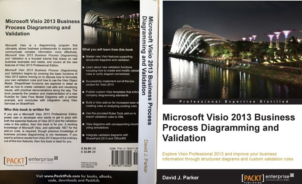 Visio Validation book cover